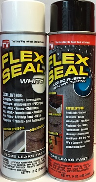 Flex Seal Liquid Aerosol Rubber Sealant Coating, Color May Vary