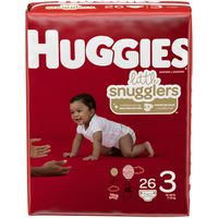 Huggies Little Snugglers Diapers Size 3 Jumbo Pack