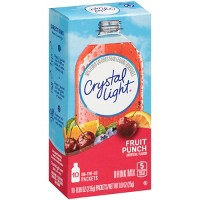 Crystal Light On-the-Go Fruit Punch Drink Mix - 10pk/0.9oz