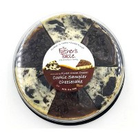 The Father's Table Cookie Sampler Cheesecake - 16oz