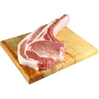 Central Market Natural Berkshire Pork Tomahawk Bone In Rib Chops