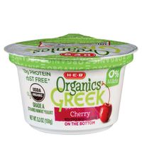 H-E-B Cherry Greek Yogurt