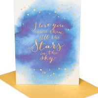 Elegant Star Quote Greeting Card - PAPYRUS