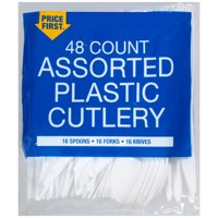 Price First Price 1st 48ct Asst Cutlery