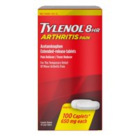 Tylenol 8 Hour Arthritis Pain Tablets with Acetaminophen, 100 ct
