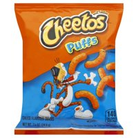 Cheetos® Puffs Cheese Flavored Snacks .875 oz. Bag