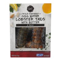Sam's Choice Frozen Wild Caught Cold Water Lobster Tails with Butter, 9 oz