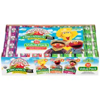 Apple & Eve Sesame Street Organic 100% Juice Variety Pack, 4.23 Fl. Oz., 32 Count