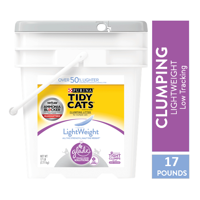 Tidy Cats LightWeight Glade Tough Odor Solutions Clear Springs Clumping Dust Free Cat Litter