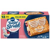 Pillsbury Toaster Strudel Cream Cheese & Strawberry 12 Ct 23.4 oz