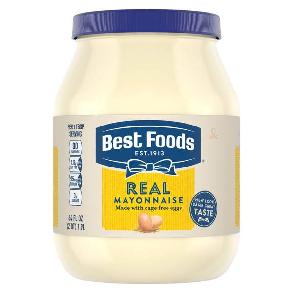 Best Foods Mayonnaise Real - 64oz
