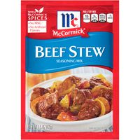 McCormick® Beef Stew Seasoning Mix