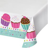 Sweets Plastic Table Cover 54