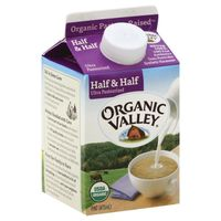 Organic Valley Ultra Pasteurized Organic Half and Half
