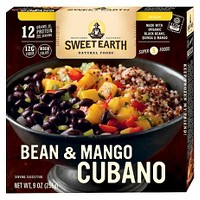 Sweet Earth Natural Foods Bean and Mango Frozen Cubano - 9oz