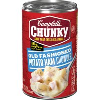 Campbell's Chunky Soup, Old Fashioned Potato Ham Chowder, 18.8 Ounce Can