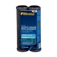 Filtrete Standard Capacity, Carbon Wrap Replacement Filter, Sump Style (sediment, CTO) - 2 pack