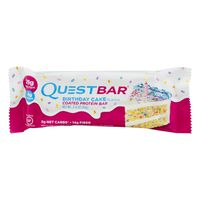 QuestBar Gluten-Free  Coated Protein Bar Birthday Cake