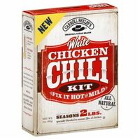 Carroll Shelby's White Chicken Fix It Hot Or Mild Chili Kit