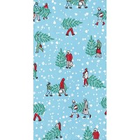 48ct Home for the Holidays Guest Towels