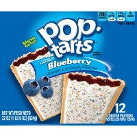Pop-Tarts Frosted Blueberry Pastries - 12ct/20.31oz - Kellogg's