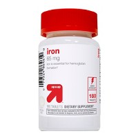 Iron Dietary Supplement Tablets - 180ct - Up&Up™