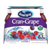 Ocean Spray Cran- Grape Juice Drink, 10 Fl. Oz., 6 Count