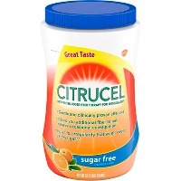 Citrucel Sugar Free Fiber Therapy Powder - Orange - 32oz