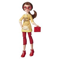 Disney Princess Comfy Squad Belle, Ralph Breaks the Internet Movie Doll with Comfy Clothes and Accessories