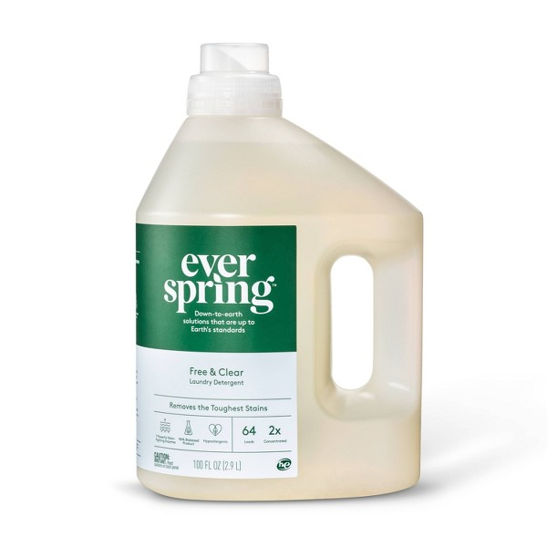 Free & Clear Liquid Laundry Detergent - Everspring™