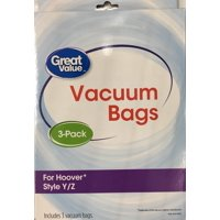 Bissell Great Value Hoover Style Y Z Bag