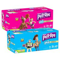 Huggies Pull-Ups Plus Boys/Girls 3T-4T, 116 ct