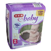H-E-B Size 2 Baby Diapers Jumbo Pack