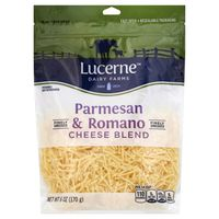 Lucerne Dairy Farms Parmesan & Romano Cheese Blend