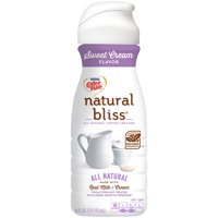 COFFEE MATE NATURAL BLISS Sweet Cream All-Natural Liquid Coffee Creamer 16 Fl. Oz. Bottle Dairy Creamer