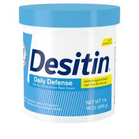 Desitin Daily Defense Baby Diaper Rash Cream with Zinc Oxide, 16 oz