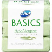 Dial Bar Basics Hypoallergenic Dermatologist Tested Soap