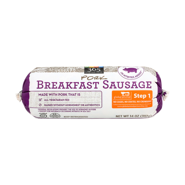 365 Everyday Value® Pork Breakfast Sausage, 14 oz