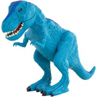 Adventure Force T-Rex with Roaring Sound Effects and Light Up Eyes, Blue