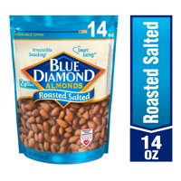 Blue Diamond Almonds, Roasted Salted 14 oz