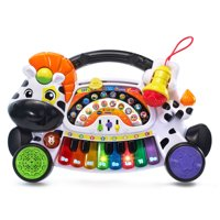 VTech Zoo Jamz Piano Zebra 4-in-1 Instrument With Microphone