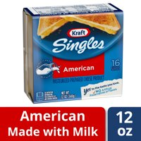 Kraft Singles American Slices, 16 ct - 12.0 oz Wrapper