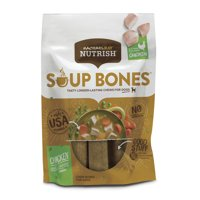 Rachael Ray Nutrish Soup Bones Dog Treats, Chicken & Veggies Flavor, 12.6 Oz. (6 Count)