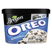 Breyers Blasts Oreo Cookies and Cream Frozen Dairy Dessert - 48oz