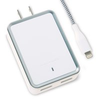 Blackweb Wall Charger with Lightning Connector 4.8 Amp, White