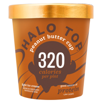 Halo Top Peanut Butter Cup Ice Cream, 1 pint