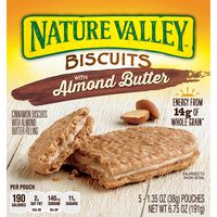 Nature Valley Biscuits, Almond Butter