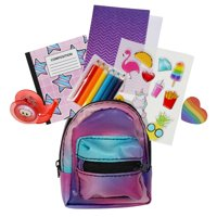 Real Littles - Micro Backpack with 6 Stationary Surprises - Styles May Vary