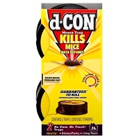 d-CON No View No Touch Slim Pack Mouse Trap - 2ct