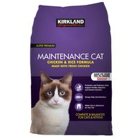 Kirkland Signature Super Premium Chicken & Rice Cat Food, 25 lb